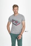 Herren Rundhals T-Shirt MIXED MEN