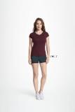 Damen V-Neck T-Shirt MOON